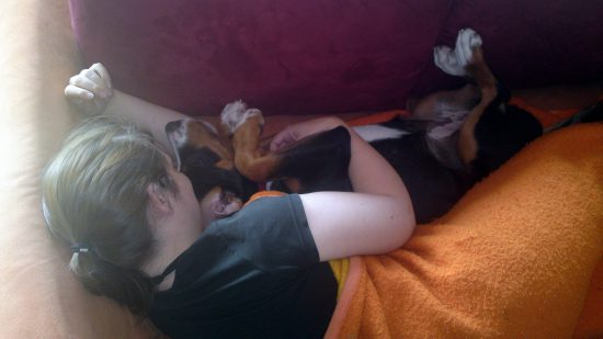 Frau & Hund