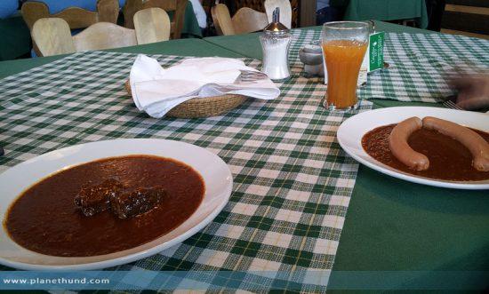 Mittagessen Gaberl