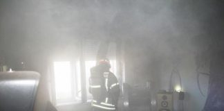 Einsatz der Feuerwehr in Graz zur Rettung eines Hundes