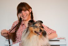 Renate Ploder beim Waldheimat Dogdance Funtunier, Foto: Renate Ploder