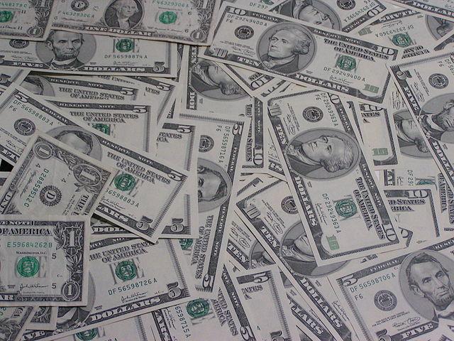 Amerikanische Dollarnoten