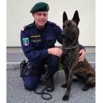 Diensthund Zorro stellte Kupferdiebe in Graz Gösting