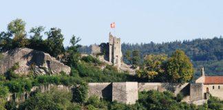Ruine Stein in Baden - Schweiz
