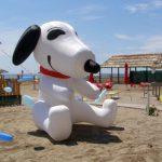 Hundestrand in Grado Pineta – La Spiaggia di Snoopy
