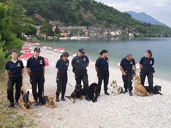 Hundestrand in Toscolano Maderno