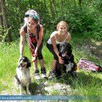 Sportliche Hundehalter im Süden von Graz