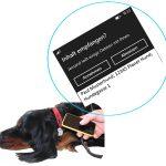 NFC Adressanhänger Hund