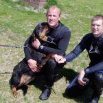 Rottweilerhündin trieb auf Weserwehr zu – Rettung in letzter Sekunde