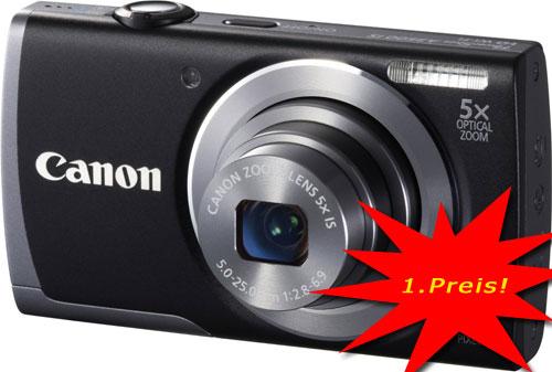 Digitalkamera Gewinnspiel