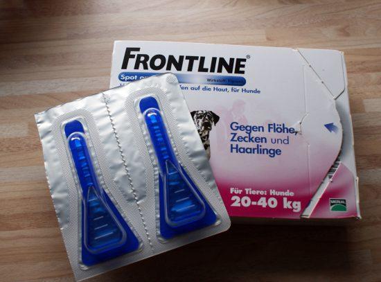 SpotOn Frontline gegen Flöhe Zecken
