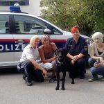 Zivilcourage von Passanten und Polizei retteten misshandelten Hund