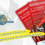 Eintrittskarten für die Heimtiermesse Berlin 2013 gewinnen!