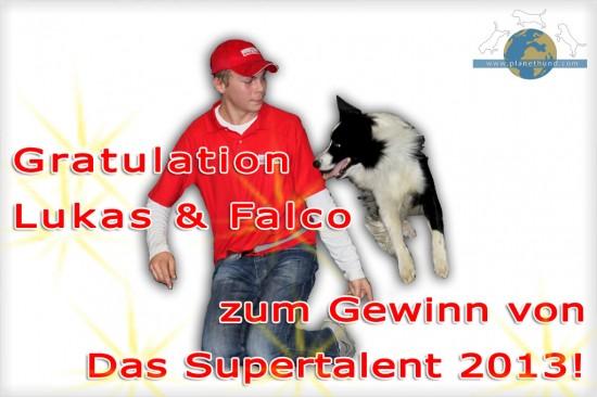 Lukas & Falco Supertalent 2013