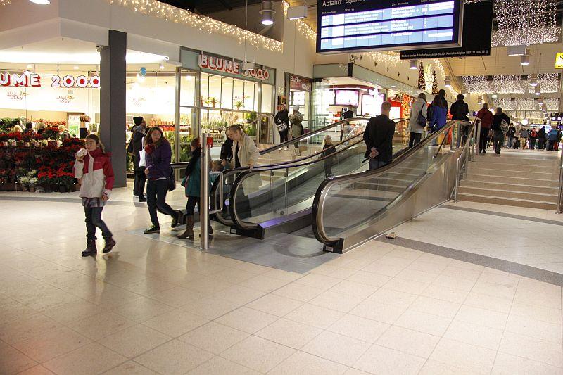 Rolltreppe Potsdamer Hauptbahnhof