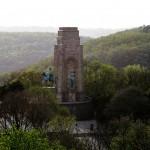 Golden Retriever stürzte am Kaiser-Wilhelm-Denkmal an der Hohensyburg in die Tiefe