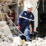 Gefährlicher Einsatz der Rettungshundestaffel nach Hausexplosion in der Wiener Mariahilfer Straße