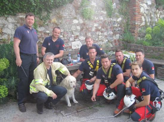 Hund Rettung Schloßberg Graz