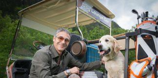 E-Golf Car für Hunde