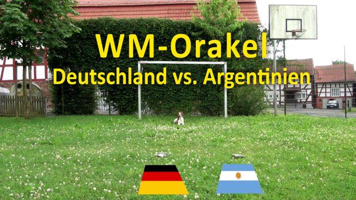 WM2014 Orakel Deutschland Argentinien Hund