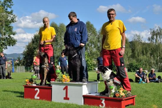 Rettungshunde Staatsmeisterschaft Sieger