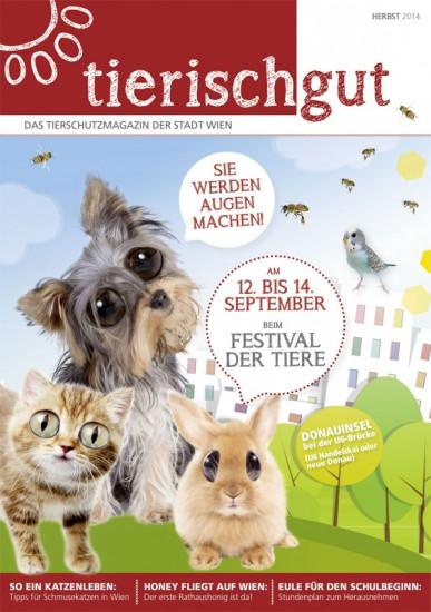 Tierschutzmagazin Wien - Tierisch gut