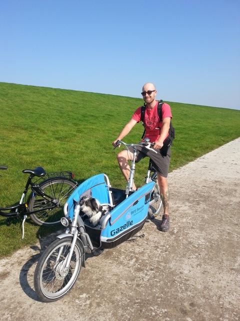 Fahrradtour Ostfriesland Hund