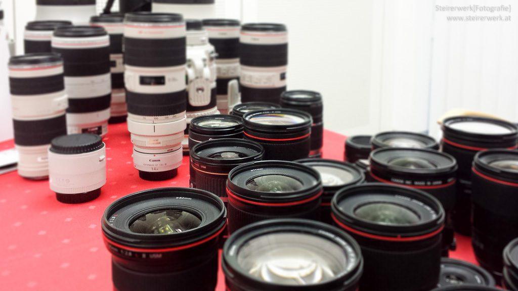 Objektive für Fotokamera