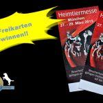 Eintrittskarten für Heimtiermesse in München gewinnen