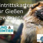 Eintrittskarten für Hund & Heimtier Gießen zu gewinnen