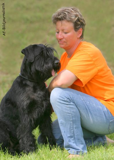 Maja Wonisch Hund