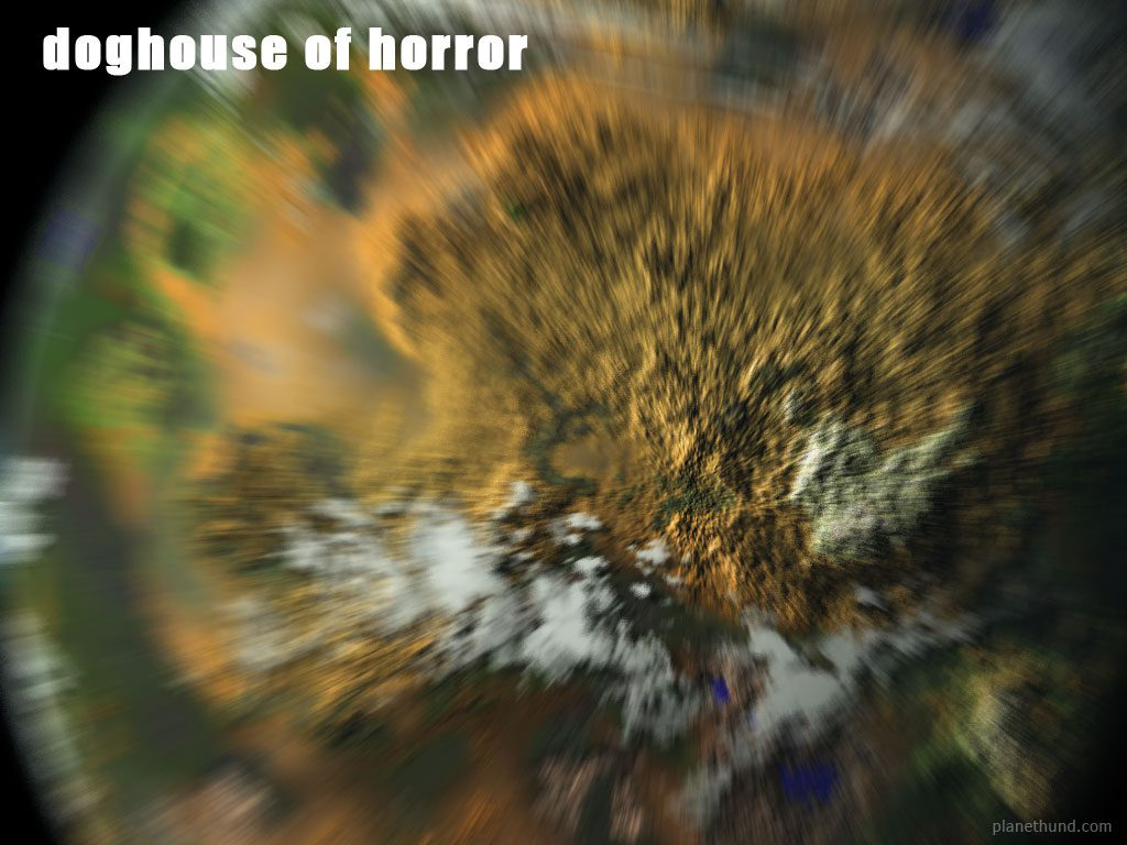 Planet Doghouse Horror Halloween