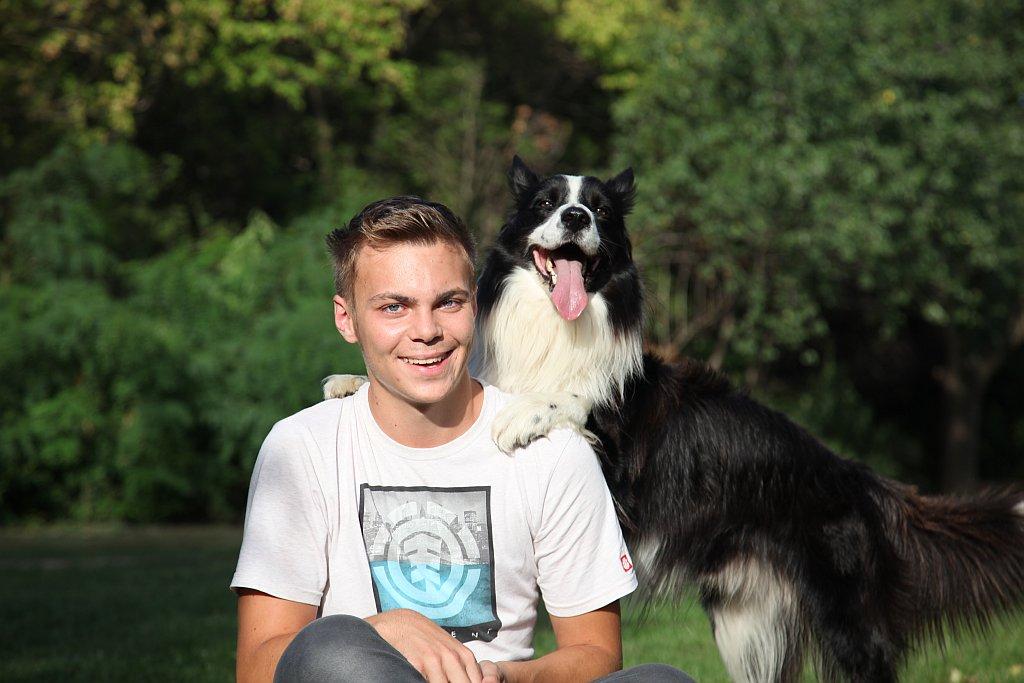 Lukas Falco Werden Prominente Tierpaten Der Pfotenhilfe Planet Hund