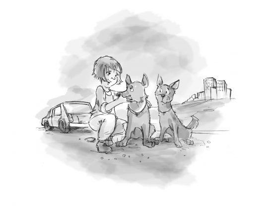 Hundebuch Die Schlucht der freien Hunde