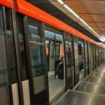 Sperre der U-Bahn aufgrund eines entlaufenen Hundes