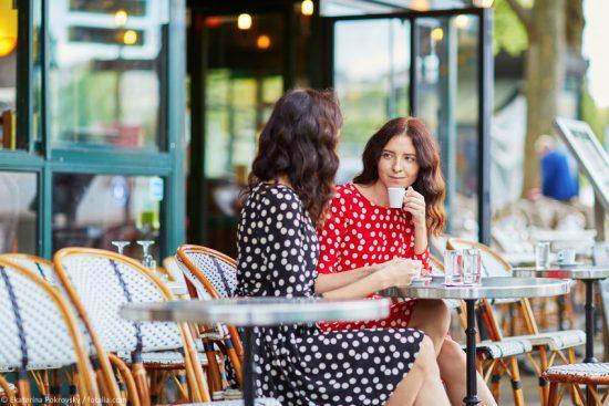 Französisches Cafe Restaurant
