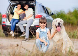 Deutschland Urlaub Hund Familie