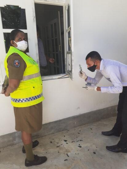 Einbruch in Tierklinik Sri Lanka