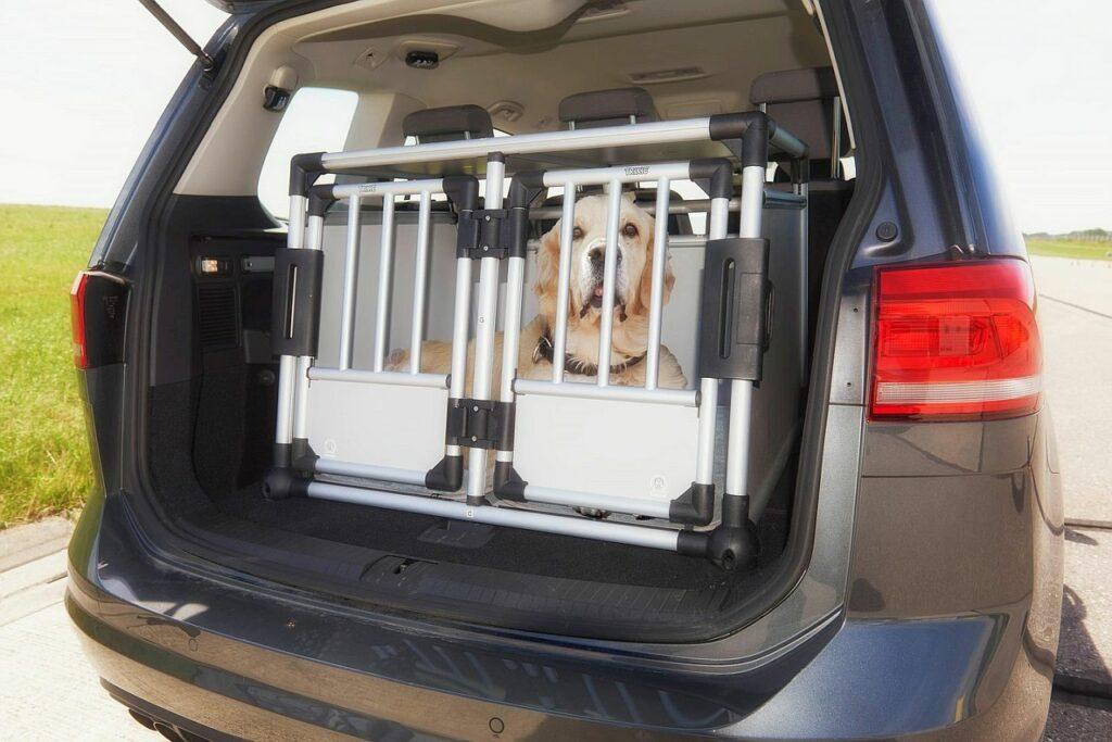 Hundetransportbox für den Kofferraum