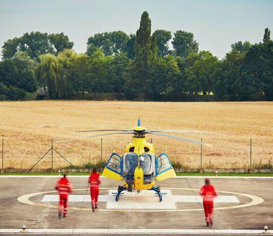 Luftrettung Hubschrauber
