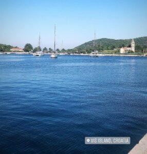 Insel Vis Kroatien Selgen